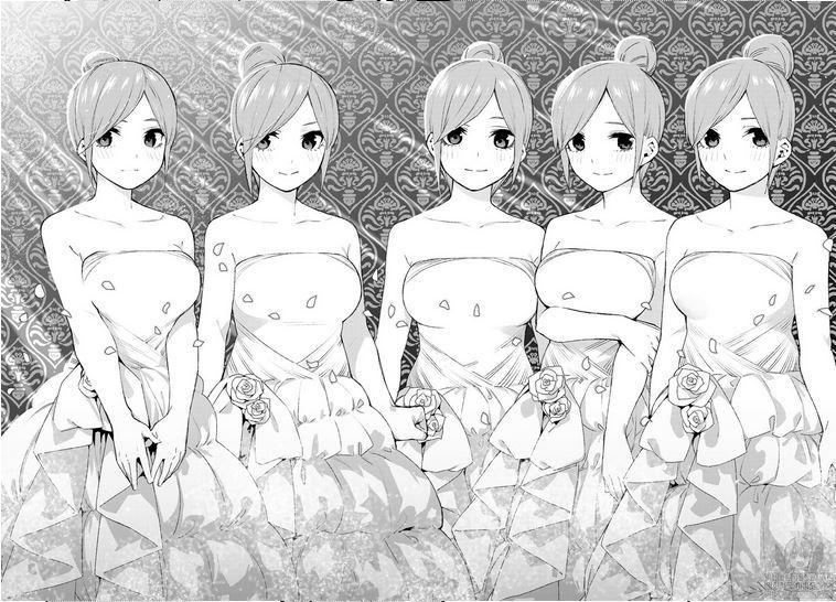 """Résultat de recherche d'images pour """"Go toubun 121 bride"""""""