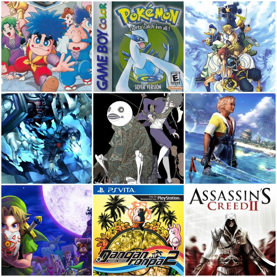 3x3 of your favorite games! - Forums - MyAnimeList net