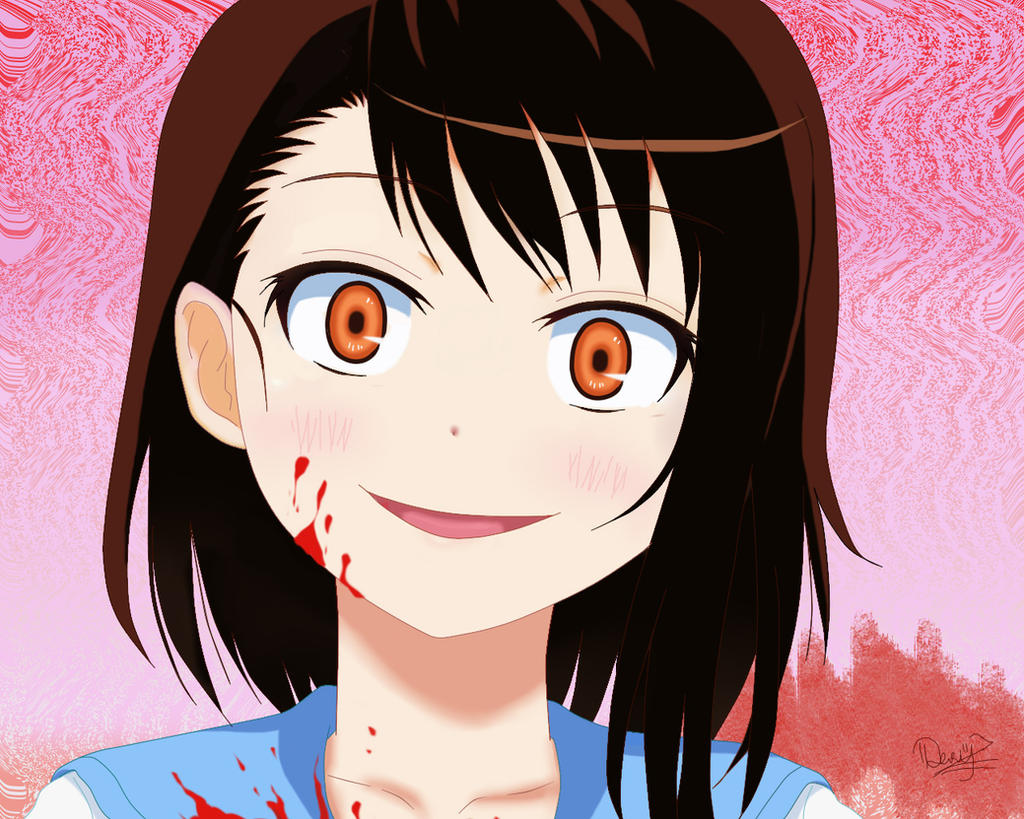 Looking for dark anime about crazy yandere girl