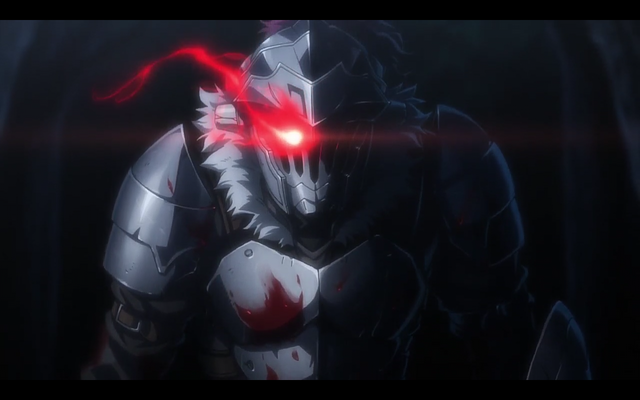 goblin slayer eye glow