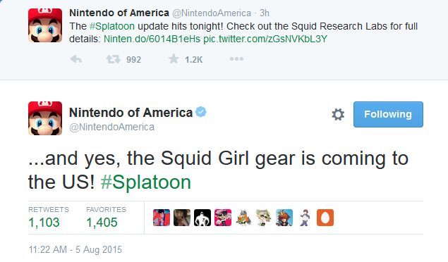 squid girl gear coming to splatoon forums myanimelist net