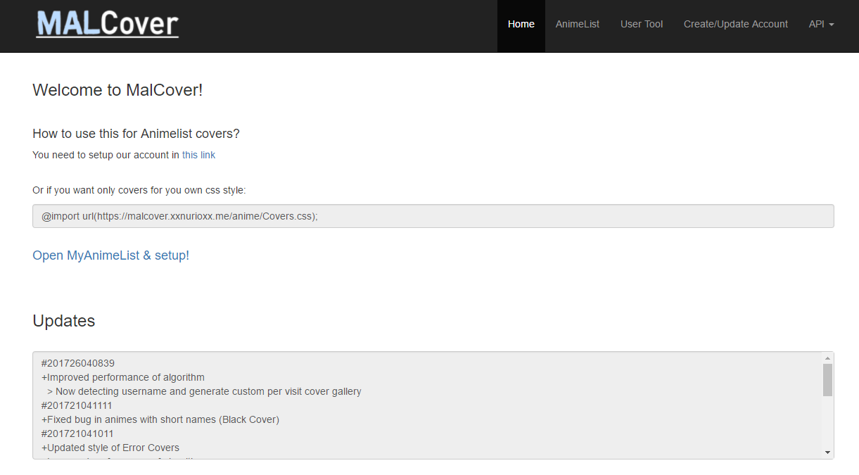 MALCover   Auto generate cover css file - Forums