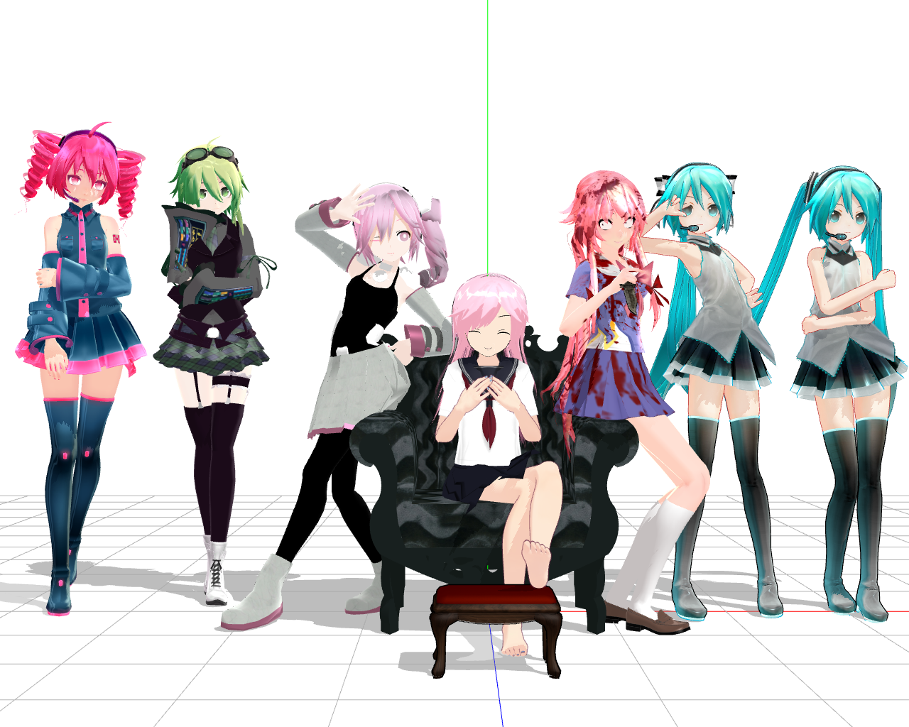 free mmd models forums myanimelist net