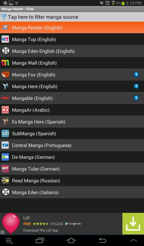 manga app free apk download