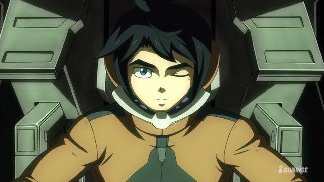 mobile suit gundam iron-blooded orphans 2nd season episode 17
