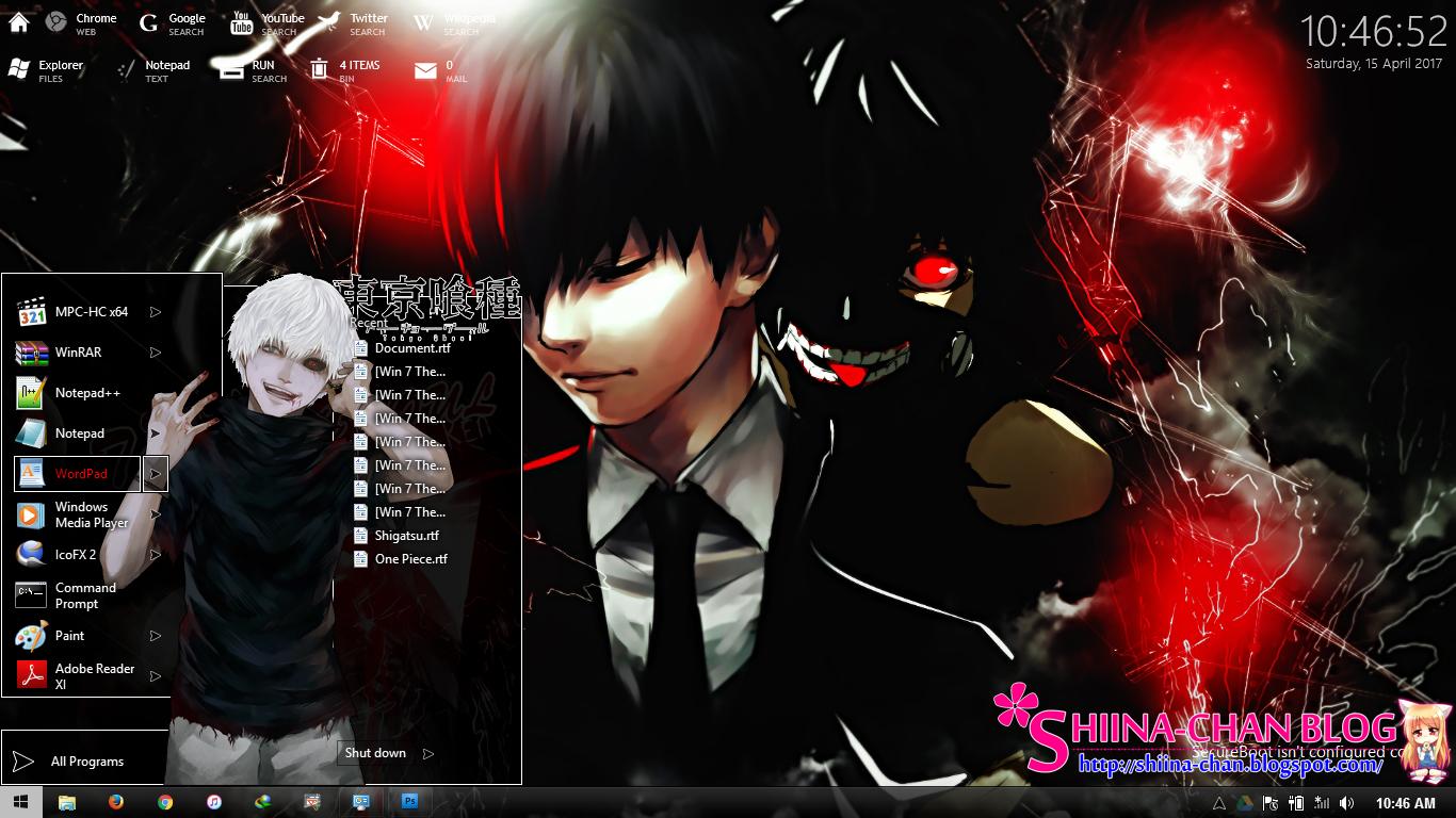 Visual styles 8~theme anime win 8/8. 1 nisekoi by hoangtush on.