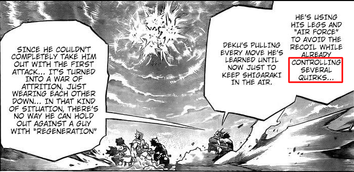 Boku No Hero Academia Chapter 285 Discussion Forums Myanimelist Net Despite the pain, deku continues his assault on tomura, striking him with detroit smash, wyoming smash, and st. boku no hero academia chapter 285