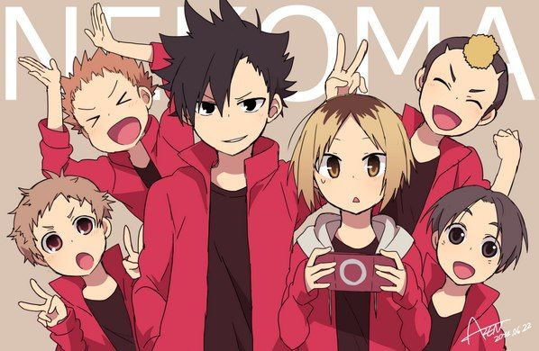 Image result for nekoma characters