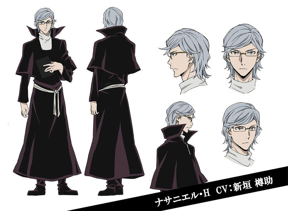 New Cast Members of 'Bungou Stray Dogs 2nd Season ...