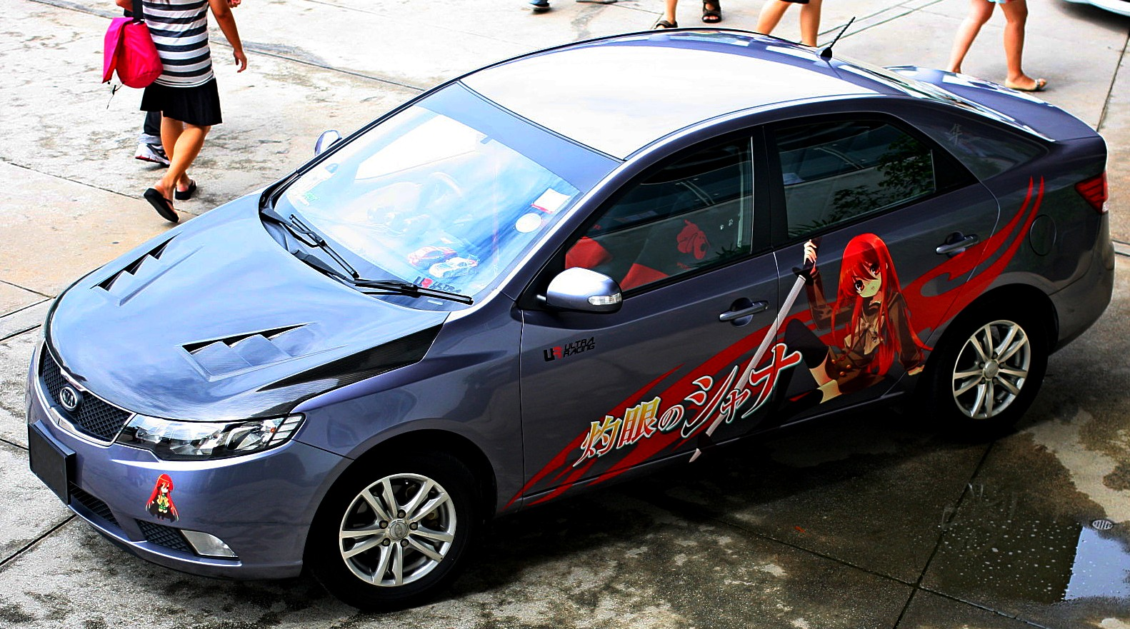 So anyone have anime decals on their car itasha forums myanimelist net