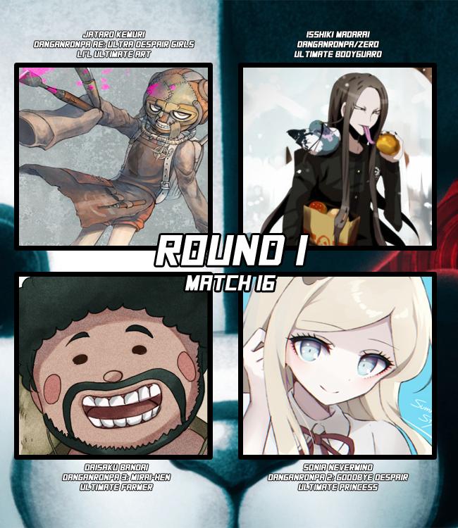 Characters] Round 1 Match 16: Jataro Kemuri VS Isshiki